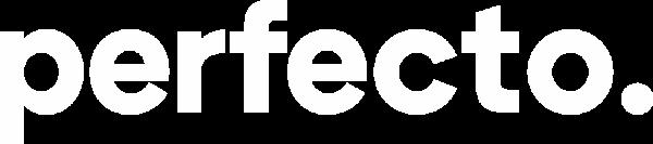 perfecto logo white